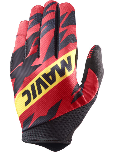 Mavic Deemax Pro Gloves Men Fiery Red/Black